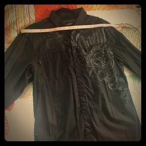O'Neill longsleeve buttonup pocket shirt size XL